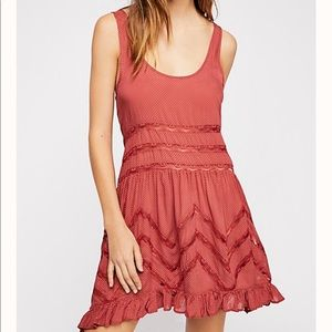 Free People Voile & Lace slip dress